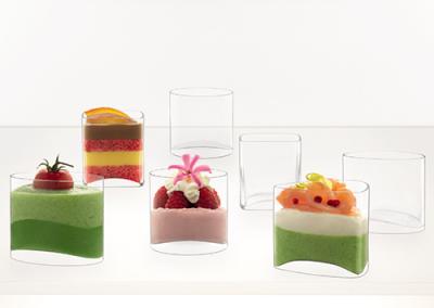 Cristalería y vasos de cristal Luigi Bormioli