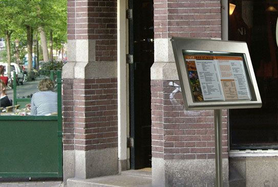 Porta-cartas para restaurantes Securit