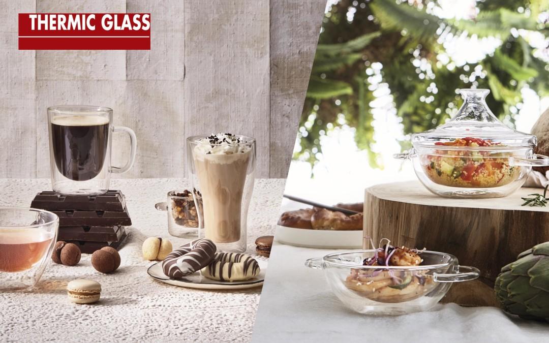 ¿Alguna vez has visto alimentos y bebidas flotar en la mesa?