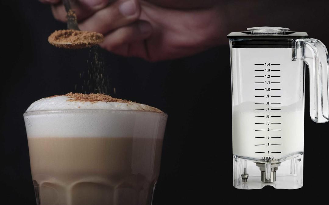 Nuevo vaso espumador de leche en frío: ¡Nunca antes has visto una espuma para bebidas tan consistente y saludable!