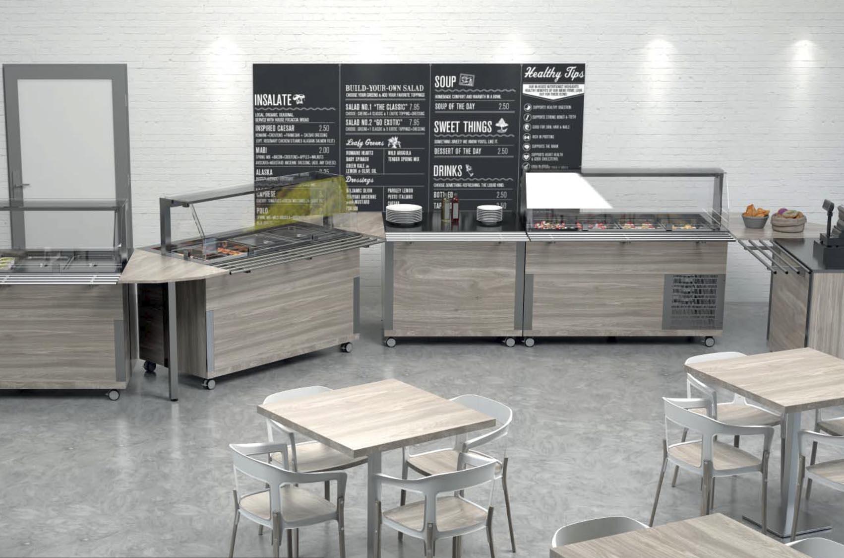 Muebles técnicos para hostelería Rocam