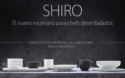 SHIRO: El nuevo escenario para chefs desenfadados