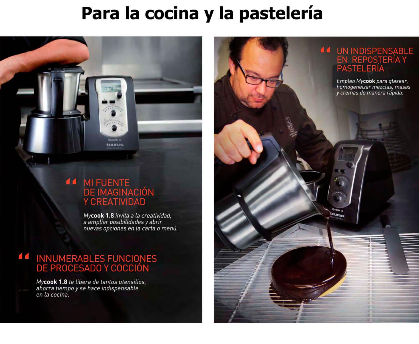 Robot de cocina profesional Taurus My Cook 1.8