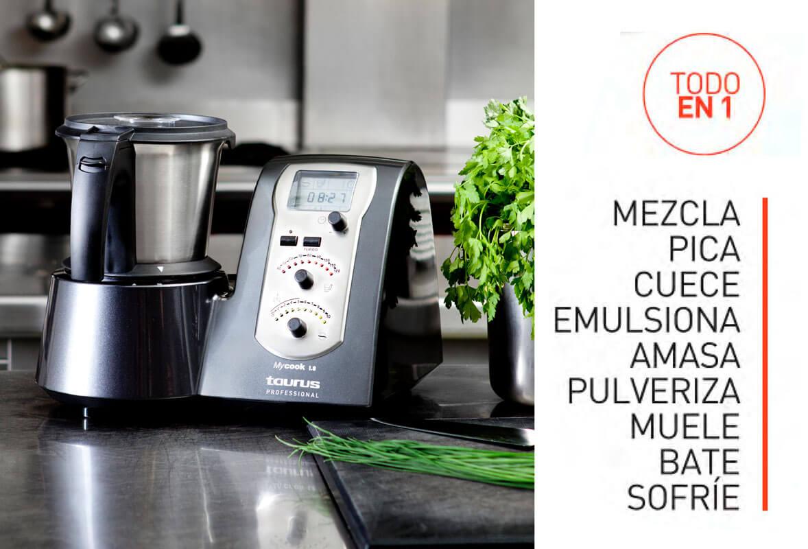 Taurus My Cook 1.8, robot de cocina profesional