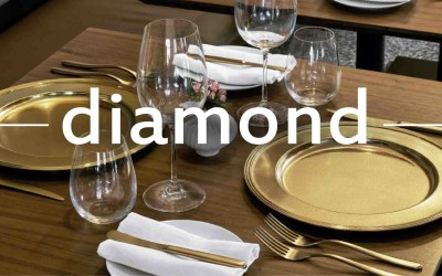 «Diamond» el nuevo acabado de Sambonet